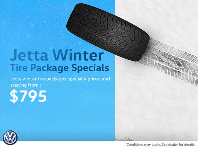 Jetta Winter Tire Package Special
