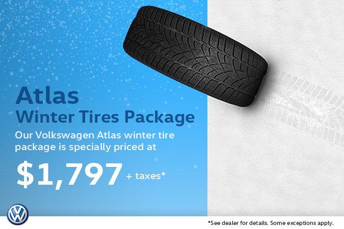 Winter Tire Special - Volkswagen Atlas Package