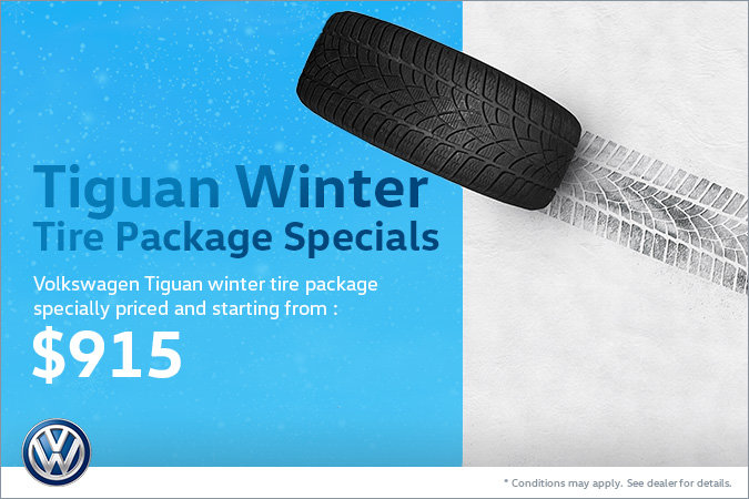 Tiguan Winter Tire Package Special