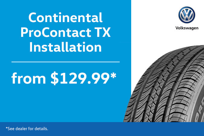 Tire Installation Combo for $129.99