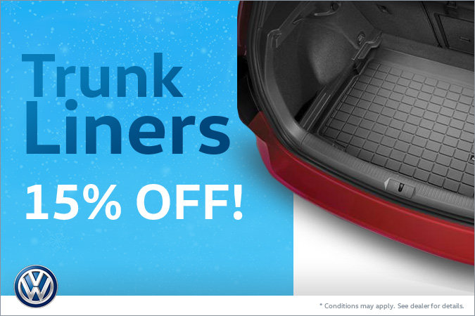 15% Off Trunk Liners