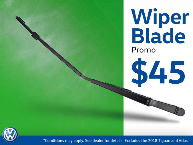 Wiper Blades for $45