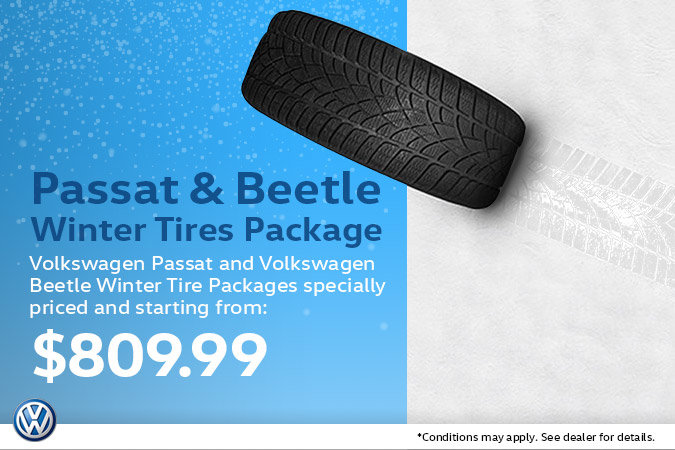 Passat & Beetle Winter Tire Package