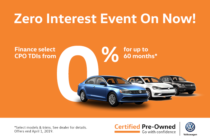 Certified Pre-Owned Special Finance Rates