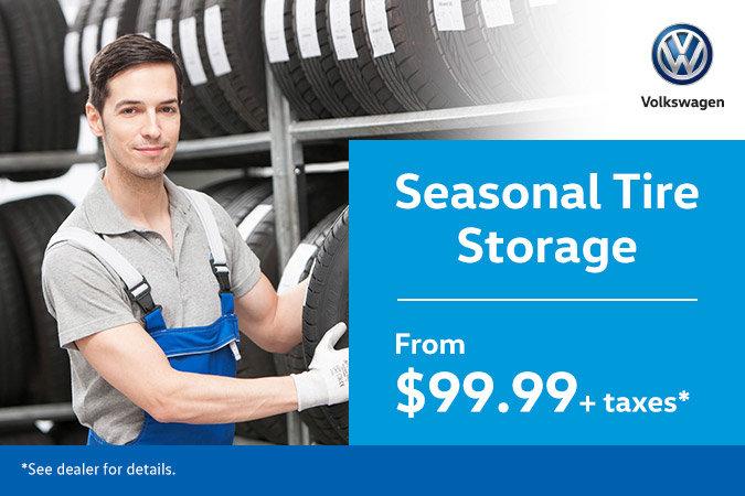 Seasonal Tire Storage Special