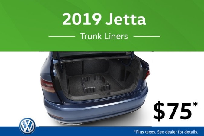 2019 Jetta Trunk Liner Special