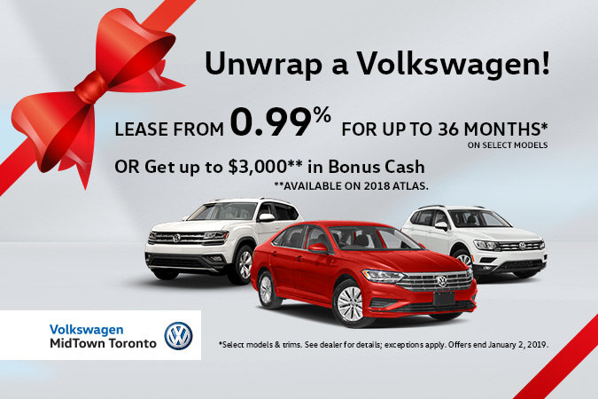 Fantastic Volkswagen Holiday Offers!