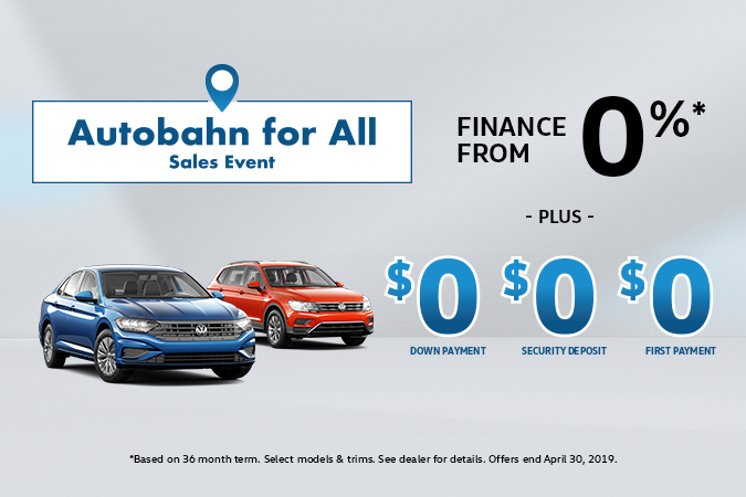 Extended! Autobahn for All Sales Event