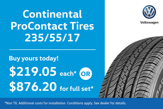 235/55/17 - Continental ProContact Tires