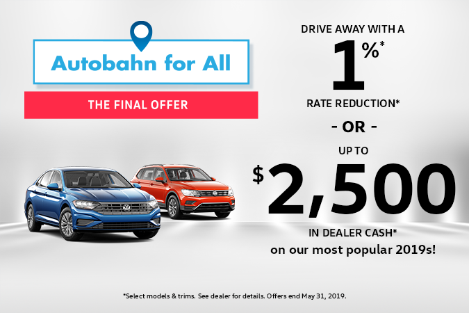 Autobahn for All: The Final Offer