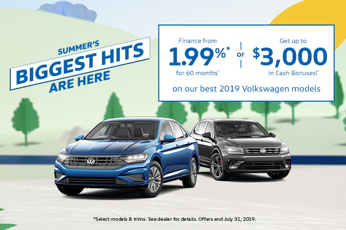 Discover Summer's Biggest Hits at VW MidTown!