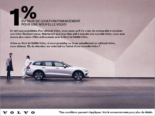 Boni de fidélité Volvo