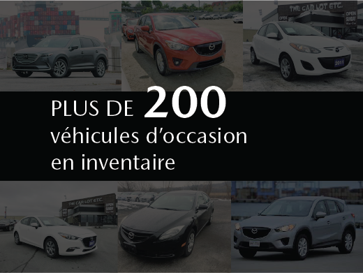 Prestige Mazda - Grand inventaire de véhicules d'occasion à moins de 10 000$!