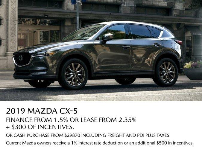 VIP Mazda - 2019 MAZDA CX5