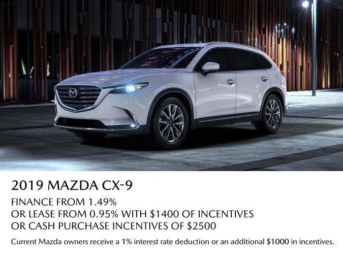 VIP Mazda - 2019 Mazda CX9