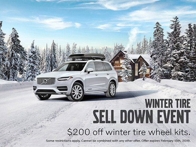 Winter Tire Sell Down Event!