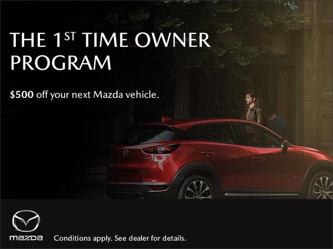 Gerry Gordon's Mazda - Mazda 1st Time Owner Program