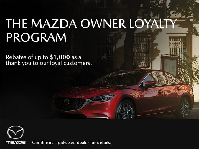 Orillia Mazda - The Mazda Owner Loyalty Program