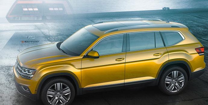 Découvrez le premier VUS de grande taille de Volkswagen :  l'Atlas 2018