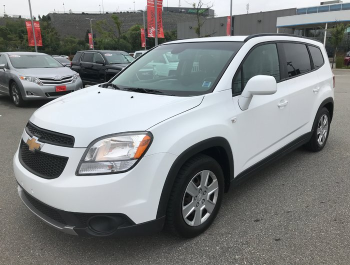 Used 2012 Chevrolet Orlando Lt 7 Pass New Tires 4 Cyl Auto Air