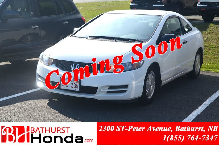 2010 Honda Civic Coupe DX G LOW PRICE!! Automatic! Cruise Control!