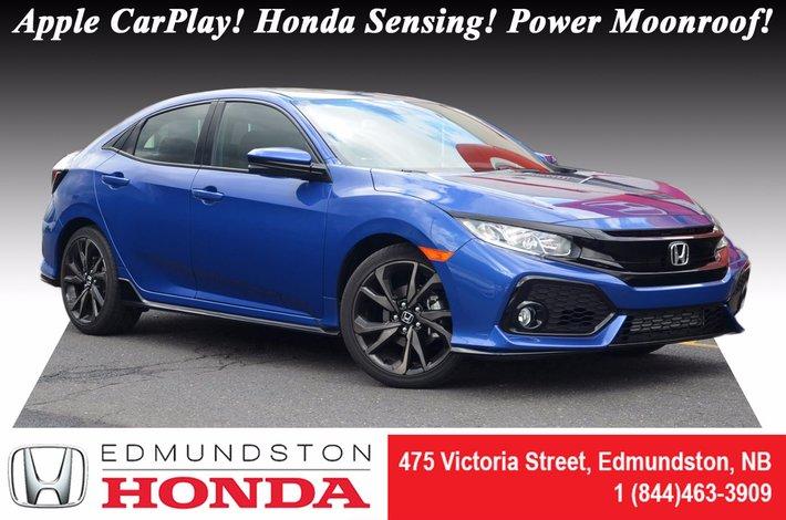 New 2017 Honda Civic Hatchback Sport Hs Add On Skirt Package