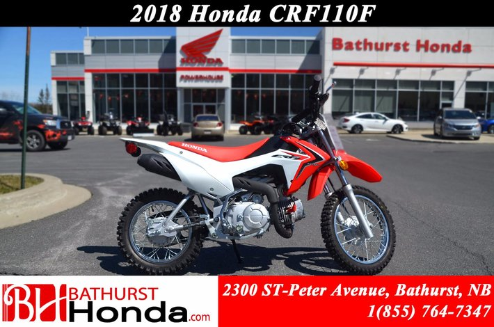 2018 Honda CRF110  Simplified Maintenance! Easy Start! Smooth from Stand-Still to Start!