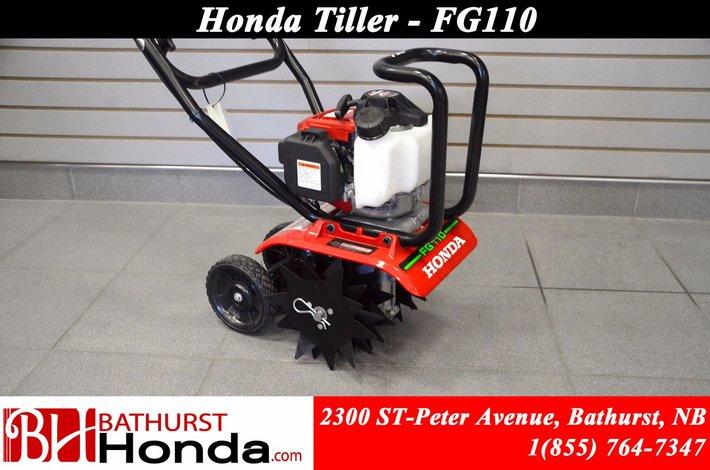 "9999 Honda FG110  Light weight! (9"") Tilling width! No smoke and runs on straight gasoline!"