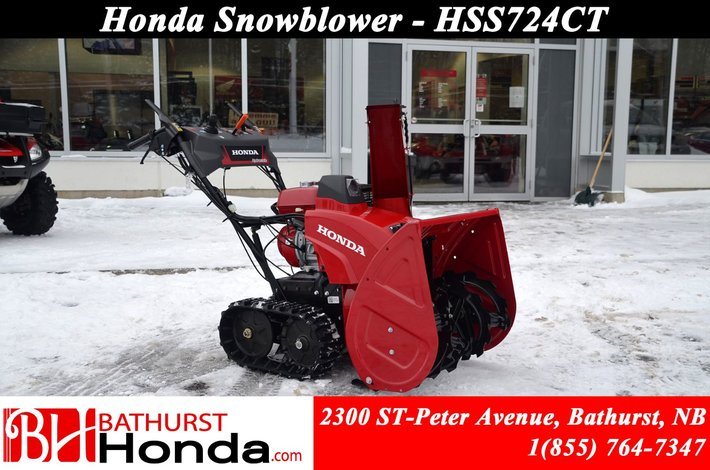 9999 Honda HSS724TC  Clear up to 42 metric tons (up to 46 tons) of snow per hr!!