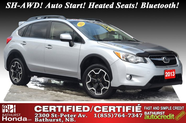 2013 Subaru XV Crosstrek 2.0i New Tires & Brakes! SH-AWD! Auto Start! Heated Seats! Bluetooth!