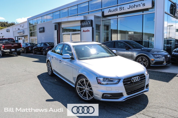 2015 Audi A4 2.0T Progressiv plus quattro 6sp
