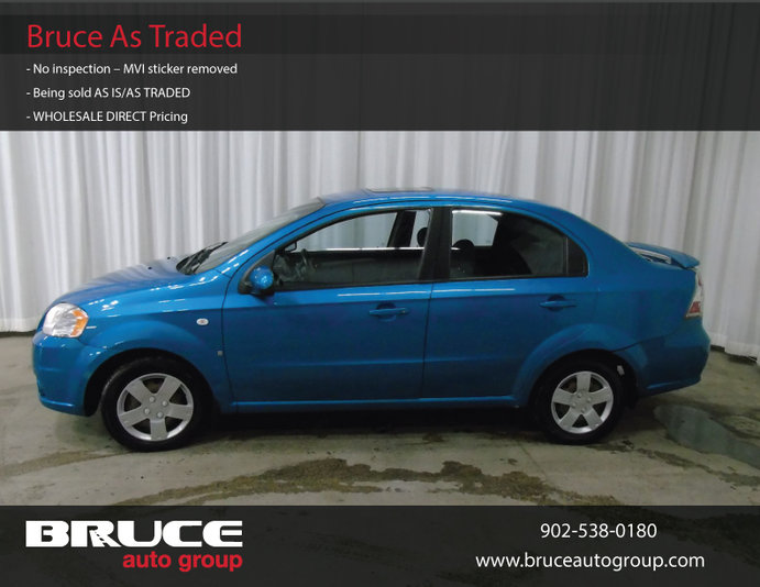2008 Chevrolet Aveo Lt 16l 4 Cyl Automatic Fwd 4d Sedan Used For