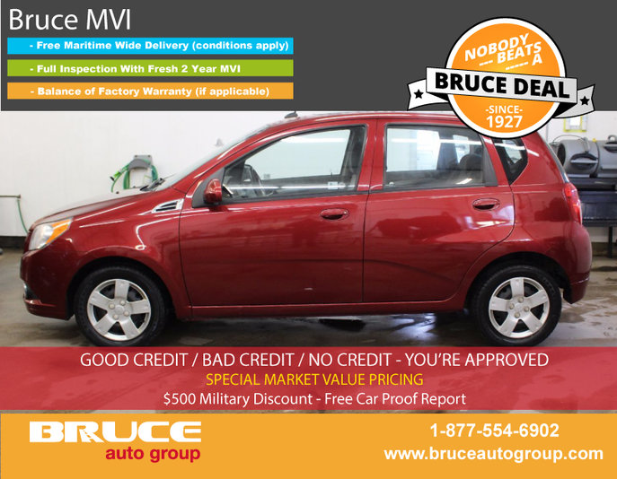 2010 Chevrolet Aveo Lt 16l 4 Cyl Automatic Fwd 5d Hatchback Used