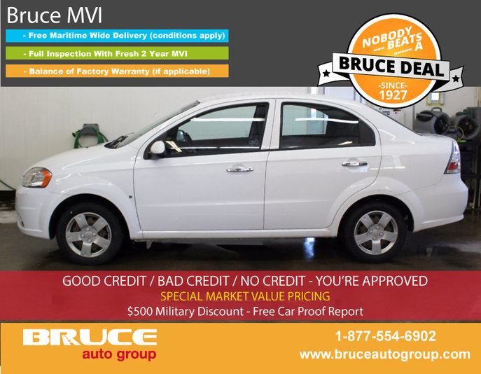 2010 Chevrolet Aveo Ls 16l 4 Cyl Automatic Fwd 4d Sedan Used For