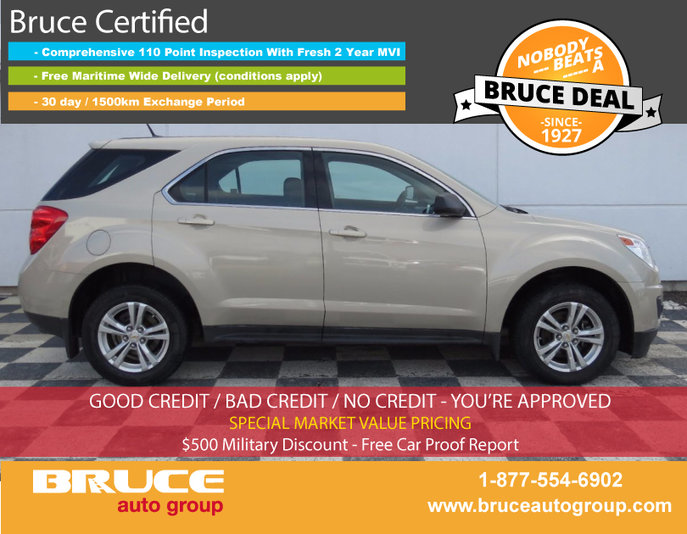 2012 Chevrolet Equinox LS 2 4L 4 CYL AUTOMATIC AWD