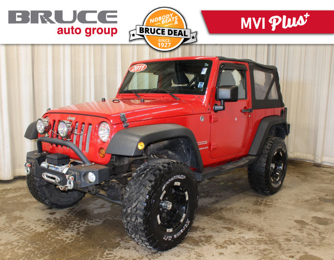 Superior 2011 Jeep Wrangler Sport   SOFT TOP / 4X4 / OFF ROAD ACCESSORIES