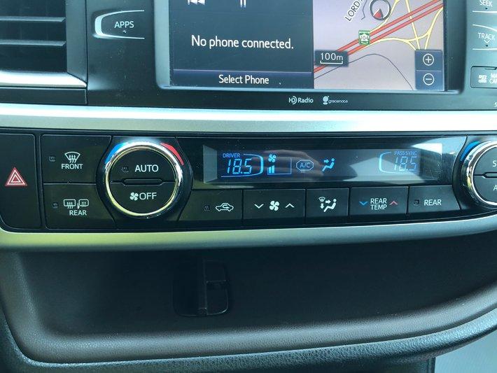 2014 toyota highlander satellite radio