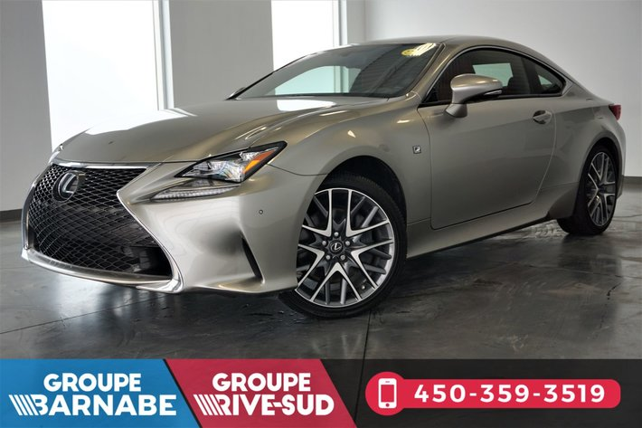 Used 2016 Lexus RC 350 RC350 F SPORT AWD + SÉRIE 2 + CUIR ROUGE In Brossard    Used Inventory   Nissan De Brossard In Brossard, Quebec