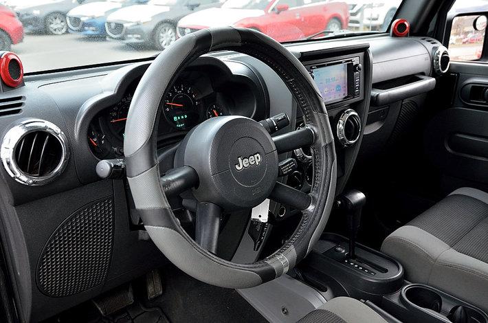 2007 jeep wrangler x 4 portes autom 2 toits navigation d 39 occasion longueuil inventaire d. Black Bedroom Furniture Sets. Home Design Ideas