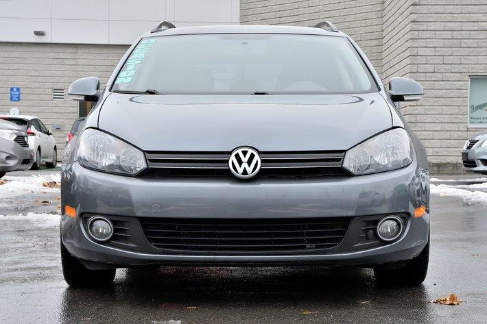 2013 Volkswagen Golf wagon *AUTOM*CUIR*TOIT*DIESEL*RARE* d'occasion à Longueuil - Inventaire d ...