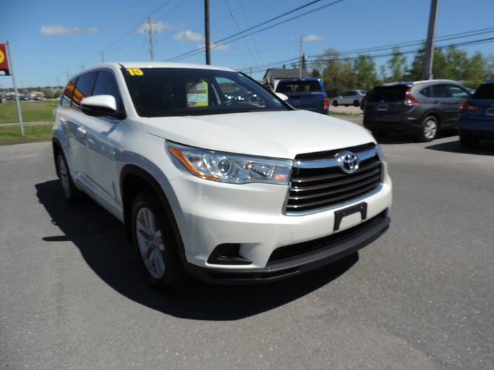 Used 2015 Toyota Highlander LE $ 241 BI-WEEKLY in - Used inventory - MacDonald Auto Group in ...