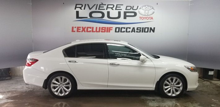 Honda Accord Sedan Touring 2014 V6,NAVY,CUIRE, TOIT ,