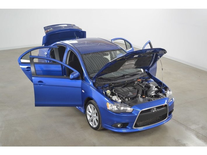 Used 2012 Mitsubishi Lancer Ralliart AWC Turbo SST for Sale