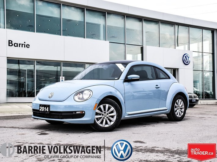 Used 2014 Volkswagen Beetle TDI Comfortline/0 90% APRIL
