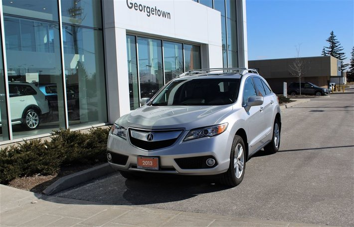 2013 Acura RDX Technology Package  Leather  Roof  Nav  Cam