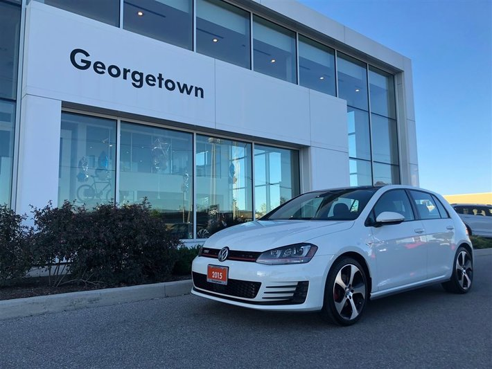 2015 Volkswagen Golf GTI AUTOBAHN   NO ACCIDENTS   LOCAL   LEATHER   DSG