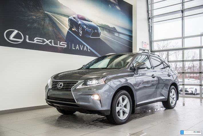 2014 Lexus RX 350 4X4- PREMIUM-CAMÉRA ONE OWNER used for