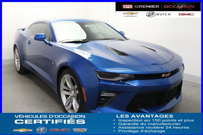 2016 Chevrolet Camaro 2ss Rs Nav Cuir Toit Dmdist Used For Sale