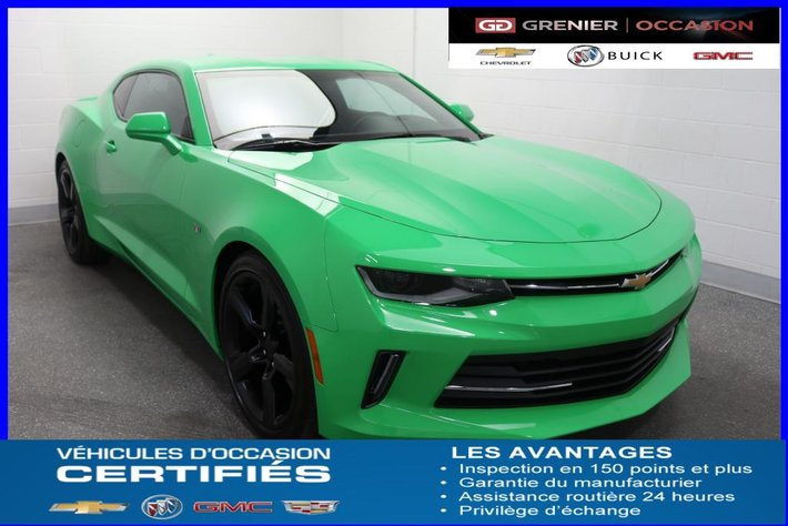 2017 Chevrolet Camaro Lt Rs Mags 20 Aileron Jupes Used For Sale