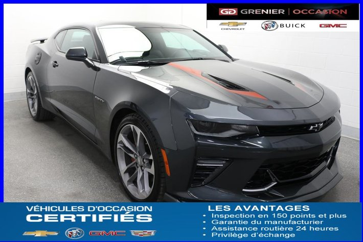 2017 Chevrolet Camaro 2ss Fifty Edition Cuir Toit Jupes Ailerons